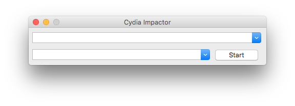 cydia impactor screen