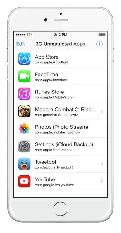 cydia 3g unrestricted apps