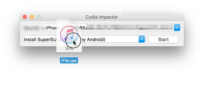 cydia impactor ifile
