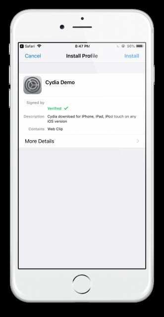 cydia configuration profile