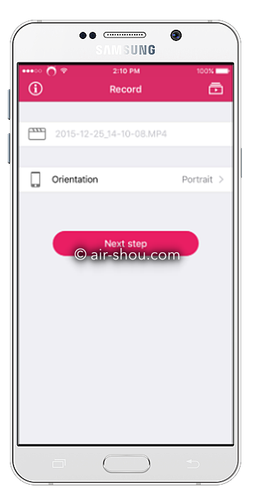 AirShou Screen Recorder ( iOS - Android )