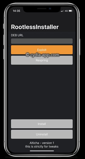 RootlessJB ( iOS Jailbreak App )