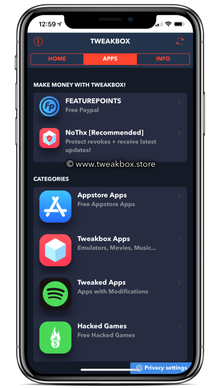 TweakBox App ( Jailbreak Alternative )