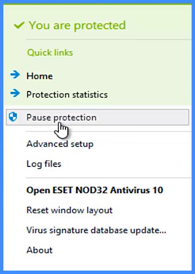 antivirus-disable