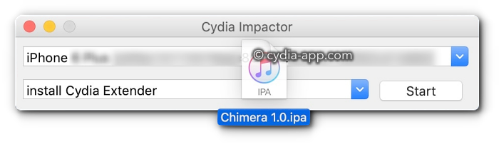 chimera app cydia impactor_app download
