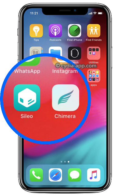 sileo chimera iphone x