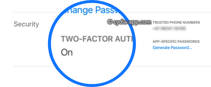 2 factor authentication apple