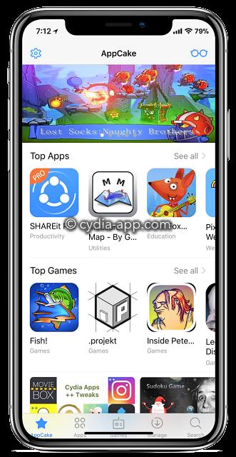 app cacke iphone x