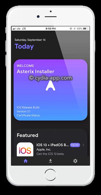 asterix installer app