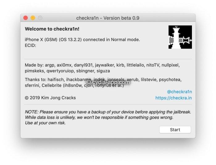 chera1n jailbreak installer
