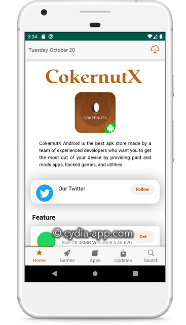 cokernutx android