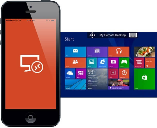 How to Remote Control your Windows 8 PC from iPhone