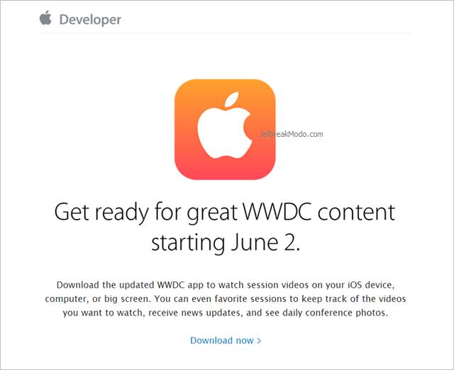 Apple Invite to WWDC 2014