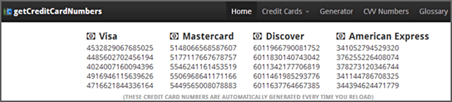How to Create a Free Credit Card Number for Online Use