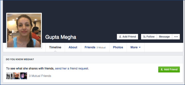 how to look at others facebook account