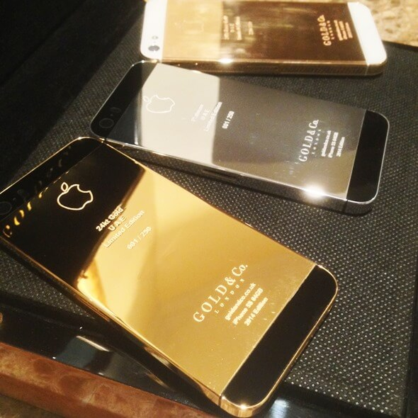 Gold Plated Iphone 5s Real 24 Karat