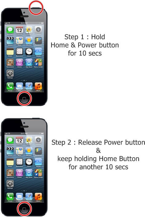 how to dfu mode iphone 5