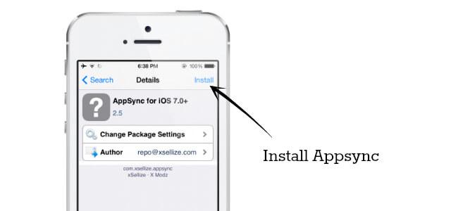 install appsync