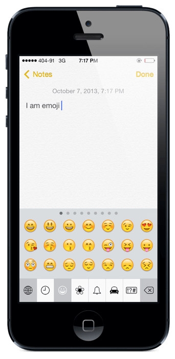 ios 7 keyboards emoji  (1)