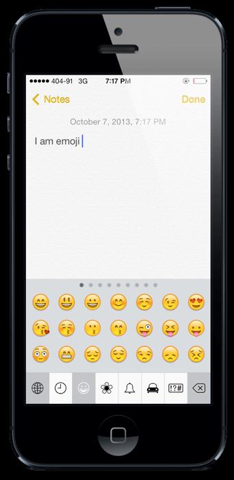 ios 7 keyboards emoji  (1)