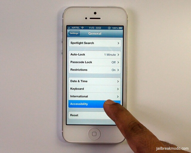 iphone 5 accessibility
