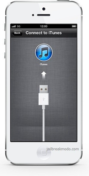 how to get iphone 5 into recovery mode