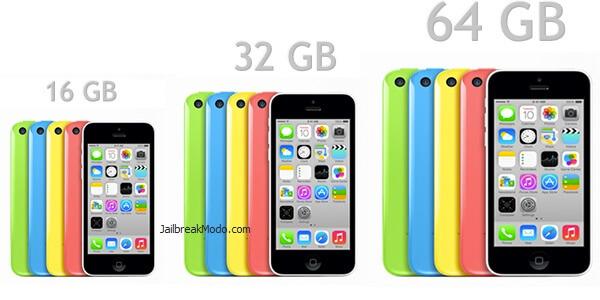 iphone 5c sizes