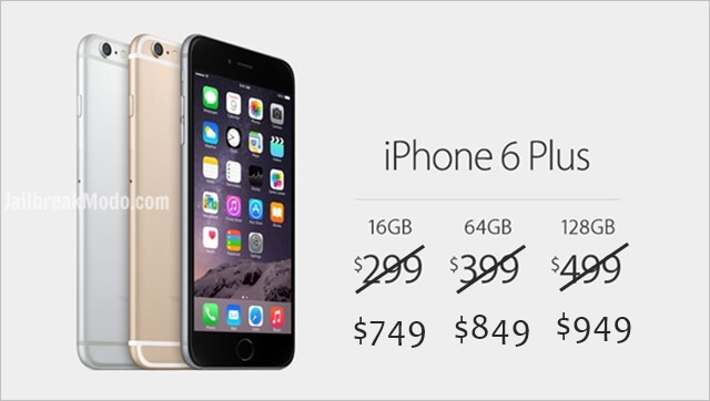iphone 6 unlocked price buy factory unlocked iphone 6 price 649 and plus for 749 15098