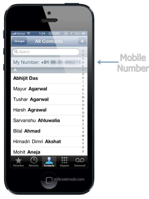 how to find phone number on iphone how to find an iphone s phone number 20053