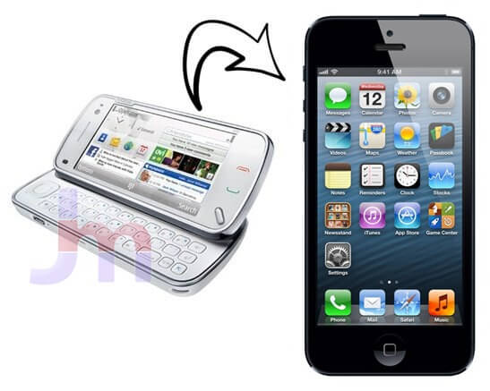 how to get sim contacts onto iphone 5