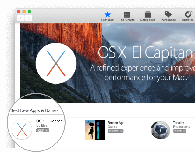 osx elcapitan download