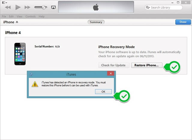 restore ios 7.0.3 recovery mode  (1)