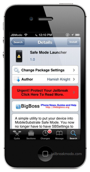 how to enter iphone in safe mode to fix crashed apps