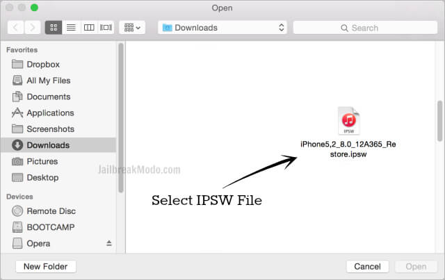 select-ipsw-file-