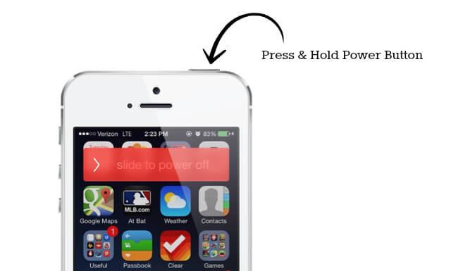 Iphone S Power Button Stuck
