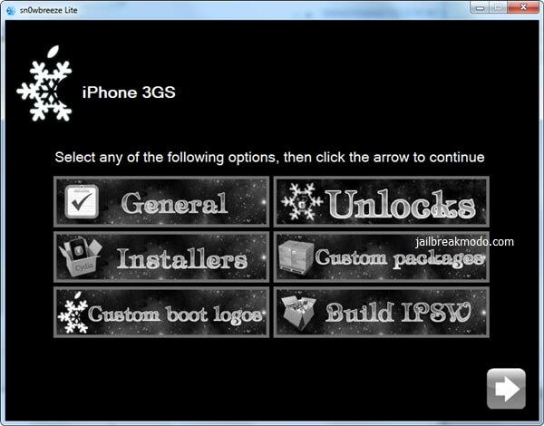 sn0wbreeze-iOS 7 -jailbreak