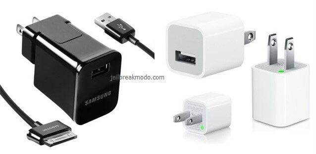 usb charger samsung vs iphone