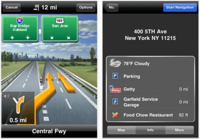 навигатор для iphone 4