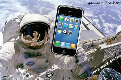 iphone 4 space station