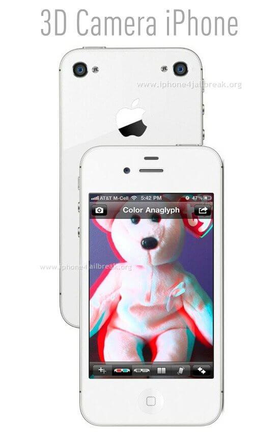 3d camera iphone 5