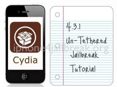 4.3.1 untethered jailbreak tutorial