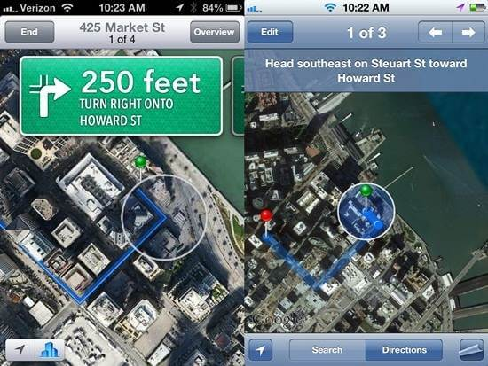 Apple-Maps-Navigation-iOS-6-vs-iOS-5