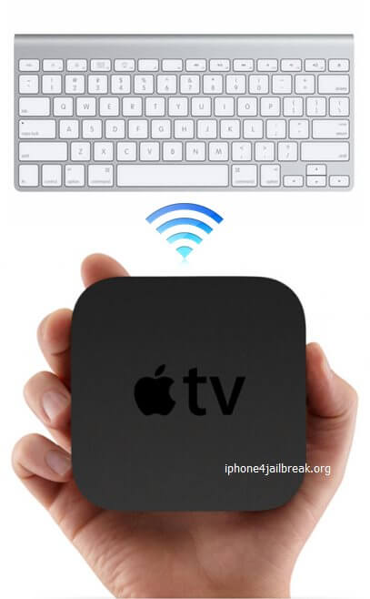 Apple-TV bluetooth keyboard support