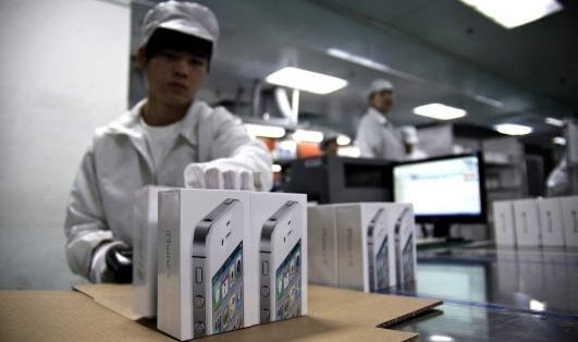 Foxconn-labor-iphone-5 manufacturing plan