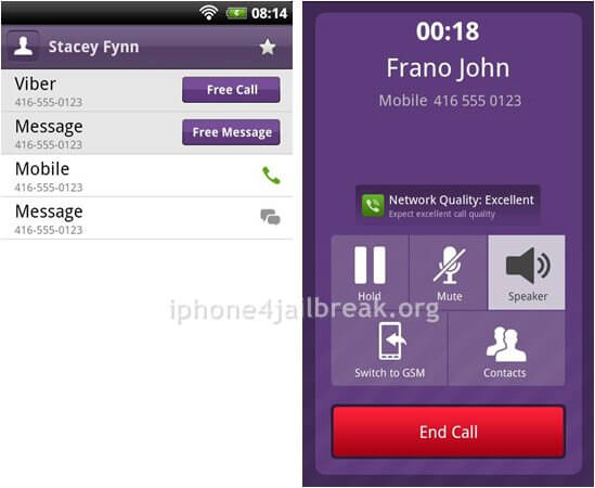 Free voice calling iphone to android