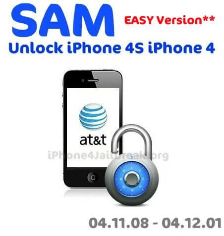 Sam Unlock iPhone 4s