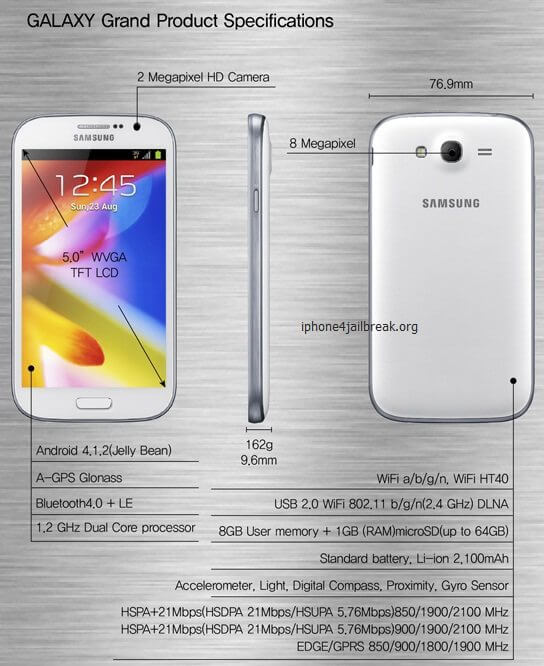 Samsung-GALAXY-Grand specifications