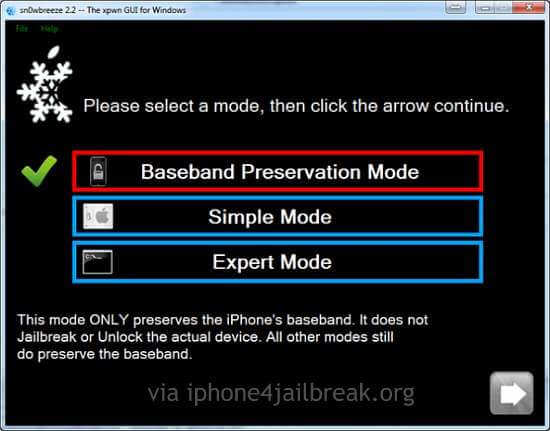 Sn0wBreeze-2.2-iphone 4 jailbreak