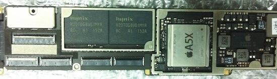 a5x processor ipad 3