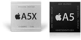 a5x processor vs a5 process ipad-